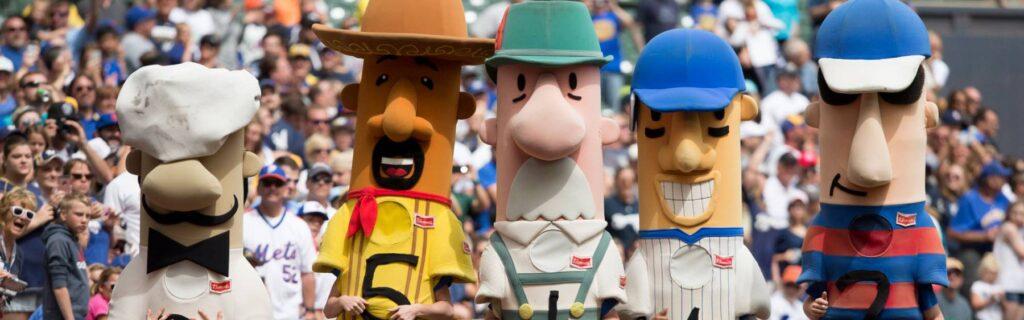 Milwaukee Brewers Racing Sausages