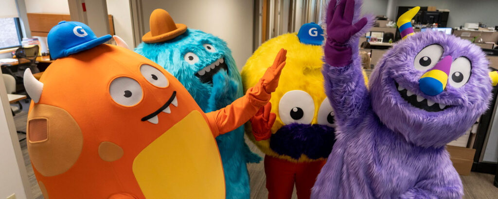 Geisinger Health Monster Mascot Costumes