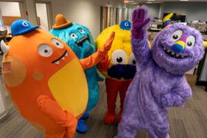 Geisinger Health Monster Mascot Costumes