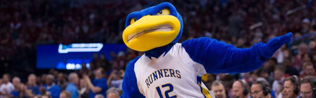 Cal State Mascot In Arena