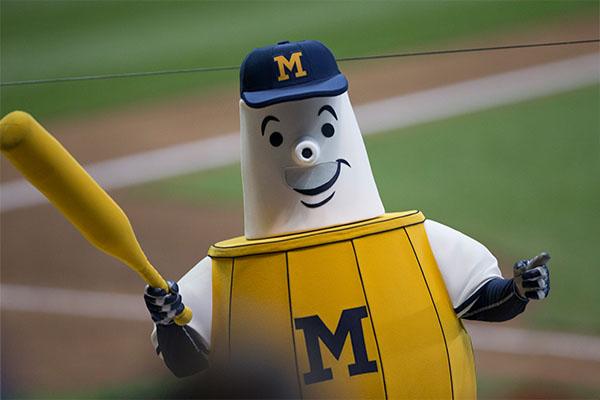 Milwaukee Brewers Barrelman Costume