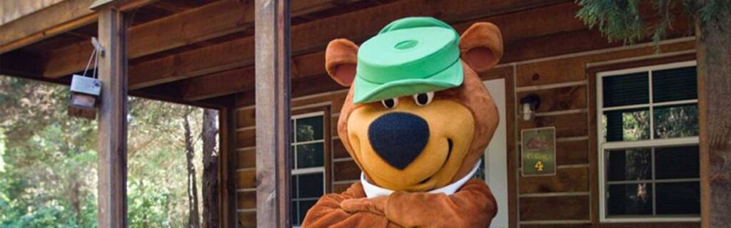 Yogi Bear Mascot