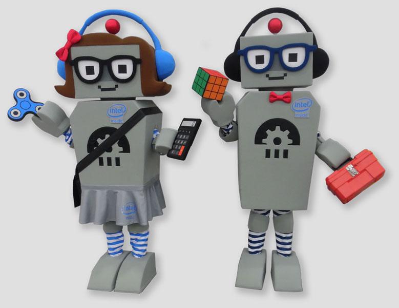 specialty mascot robot mascot
