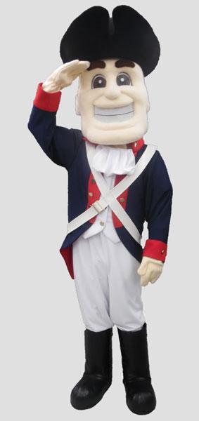School mascot revel