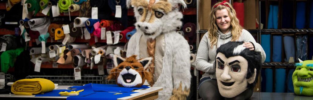 Mascot Heads With Mascot Designer