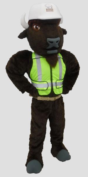 specialty mascot buffalo mascot