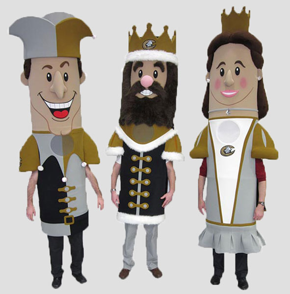 sports mascot knights royal racers