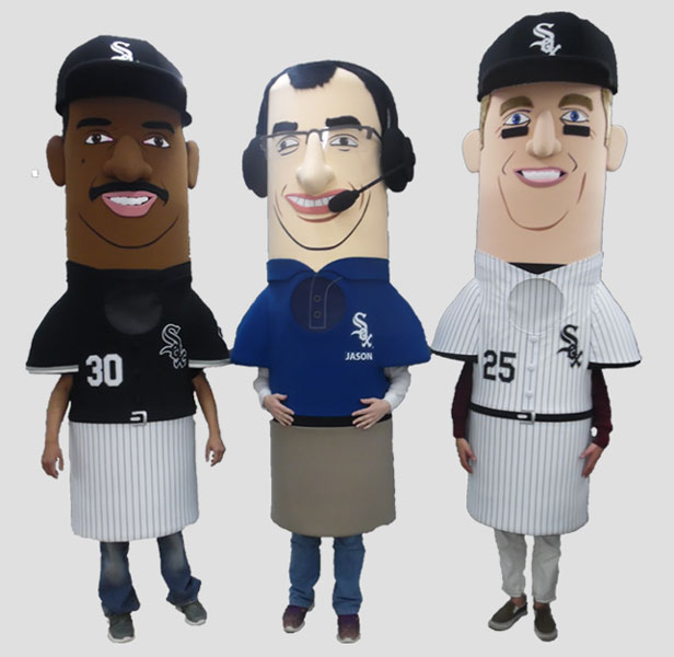 sports mascot white sox legends