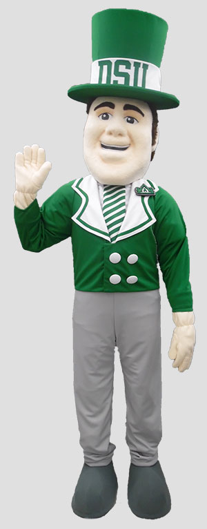 School mascot irishman