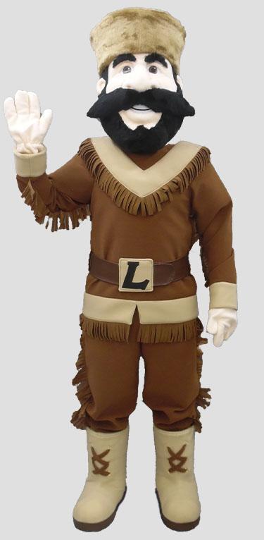 school mascot pioneer human