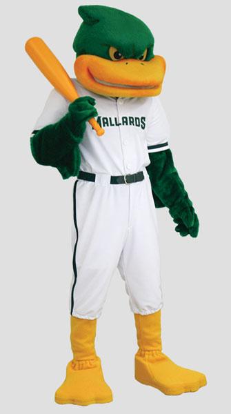 Sports Mascots Mallard Duck Mascot