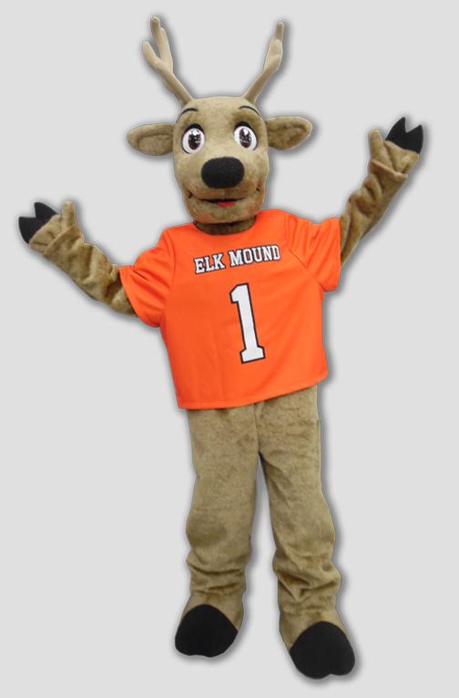 school mascot elk mascot