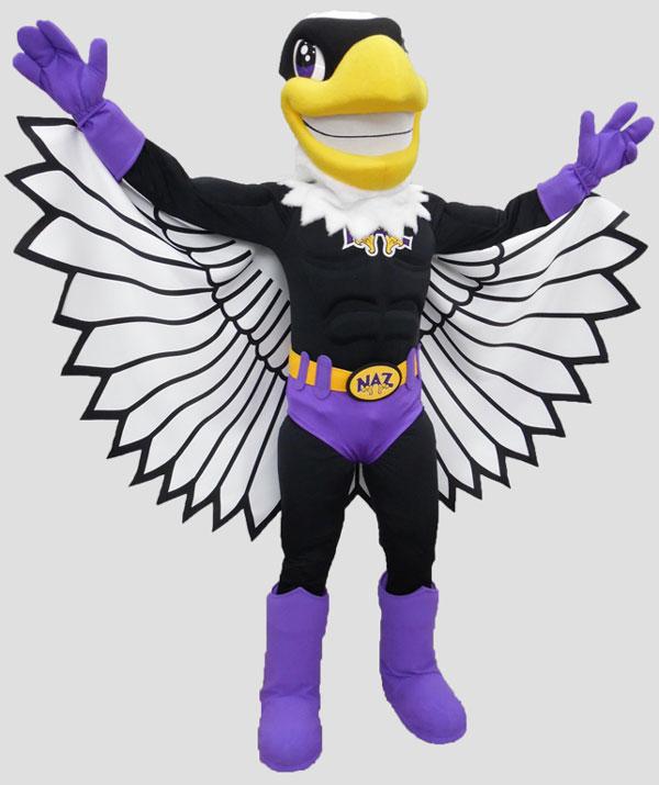 school mascot superbird mascot