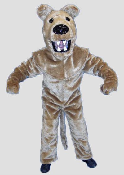 School mascot Lion