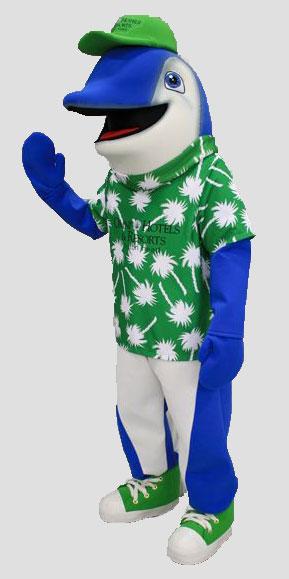 specialty mascot dolphin mascot animal mascot