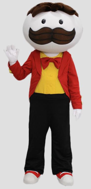 corporate mascot mr pringle