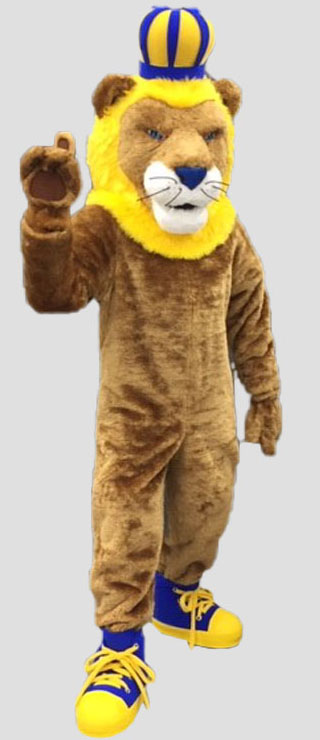 school mascot lion mascot