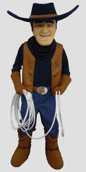 School mascot cowboy