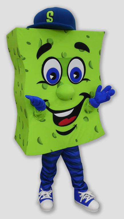 corporate mascot sponge