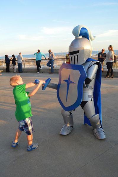 CSU Knight Mascot