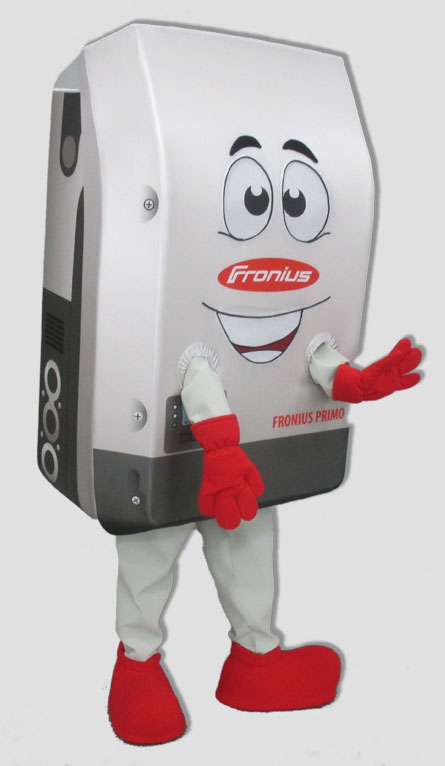 corporate mascot solar inverter