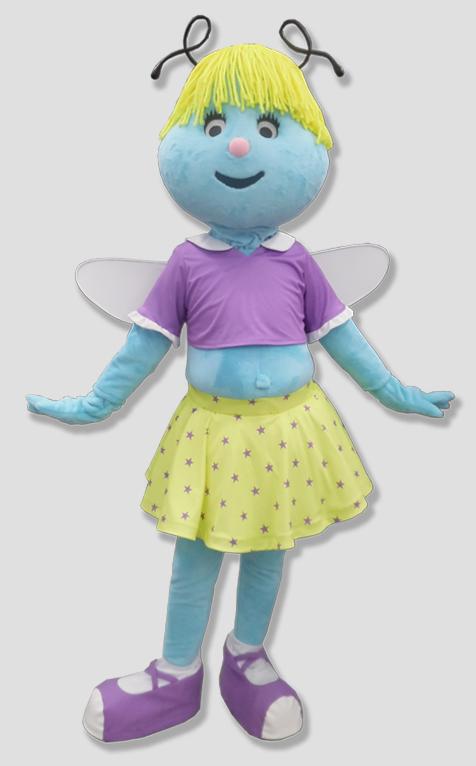specialty mascot fairy mascot human mascot
