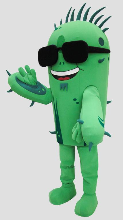 specialty mascot cactus mascot plant mascot
