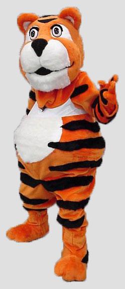 School mascot tiger