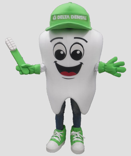specialty mascot tooth mascot dental mascot