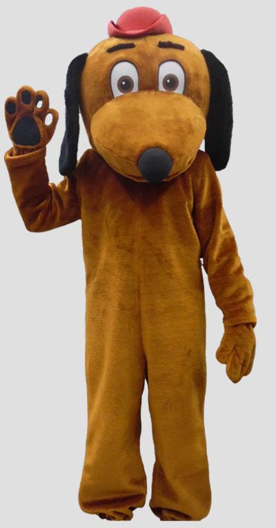 school mascot dog mascot
