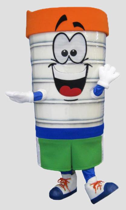 corporate mascot tumbler