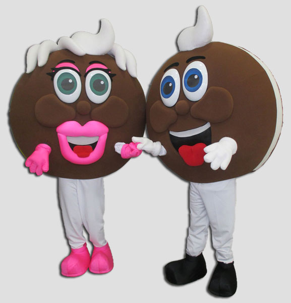 specialty mascot food mascot pie mascot whoopie pie mascot