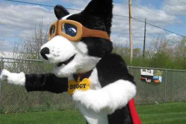 Mascot goggles accessory