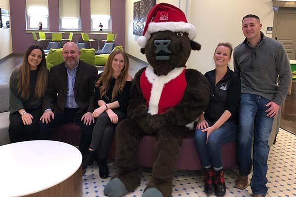 Santa Costume Mascot Accessory
