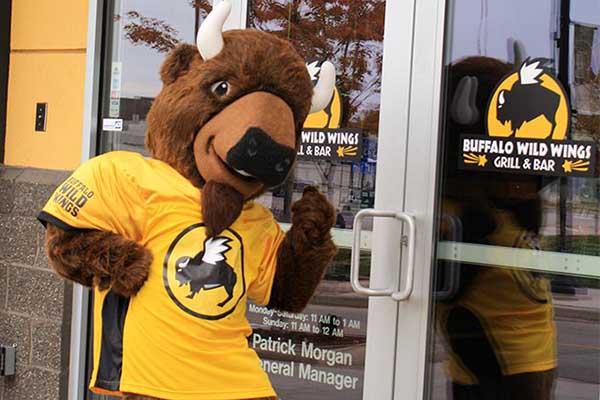 Buffalo Wild Wings Mascot