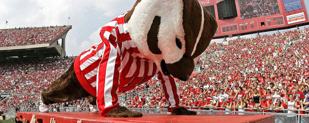 Bucky Badger Mascot UW Madison