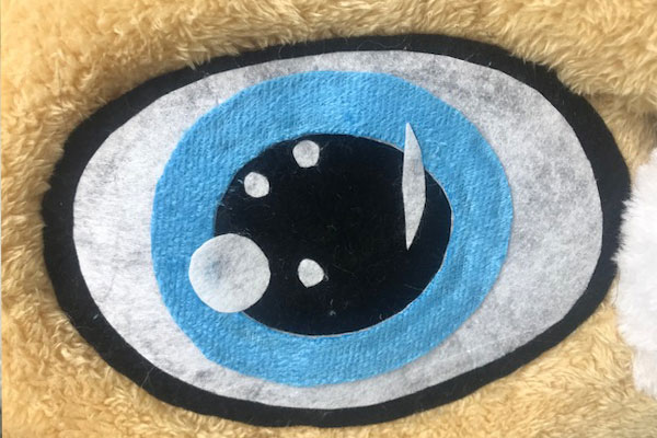Cheap Mascot Costume Eye