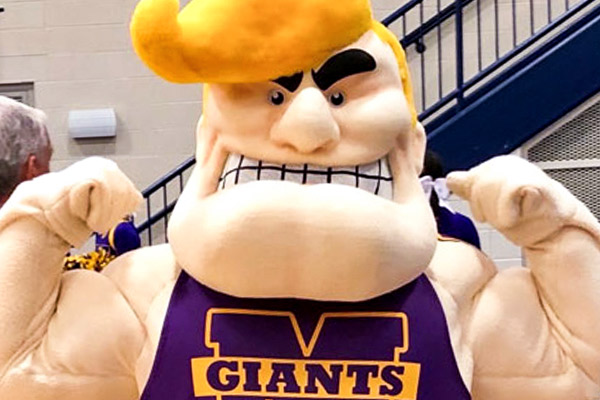 Stretch Murphy Marion High School Mascot
