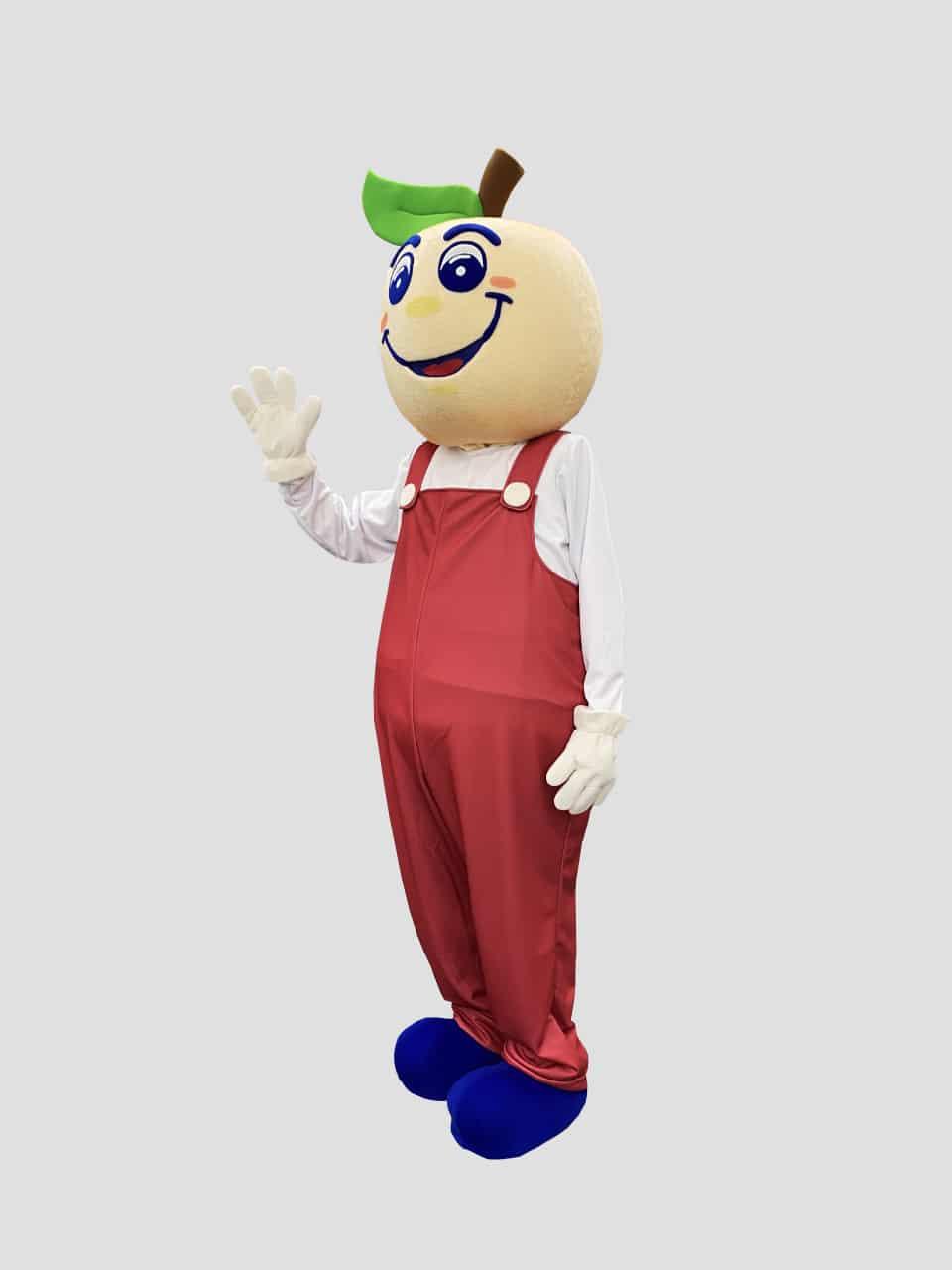 peach mascot costume