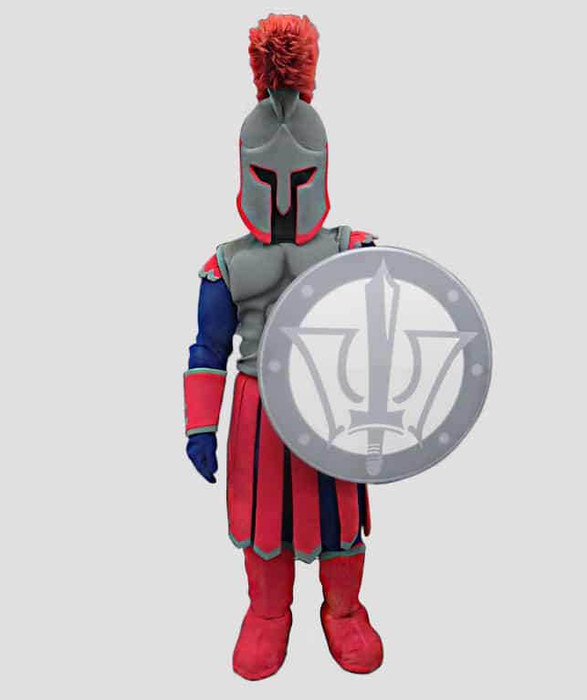 Warrior mascot for Texas A&M University, Central Texas