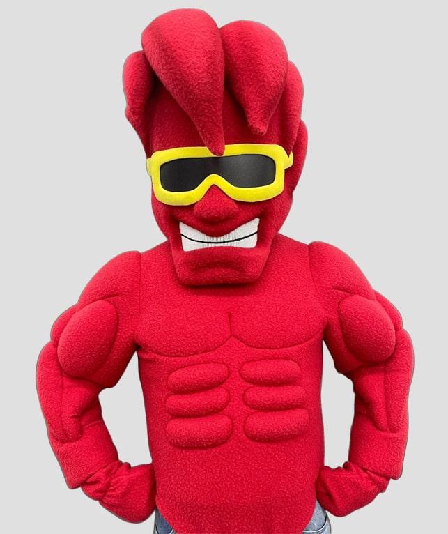 Crimson Tide mascot costume for Everett high school